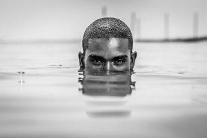Uimarin pää